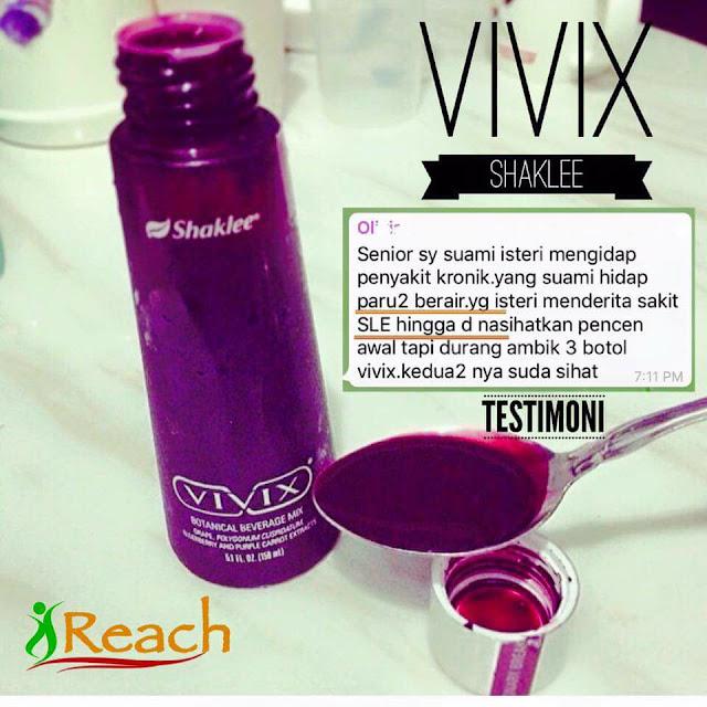 testimoni vivix SLE