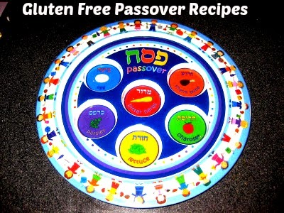Photo of a colorful plastic seder plate