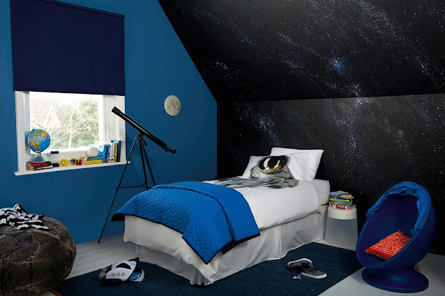 Dulux Space Bedroom #KidsBedroom