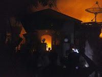 Kebakaran di Risa Hanguskan Delapan Rumah, Kerugian Capai Ratusan Juta