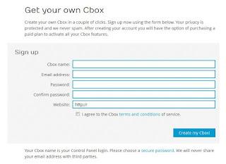 Cara Mendaftar dan Memasang Widget Cbox di Blog