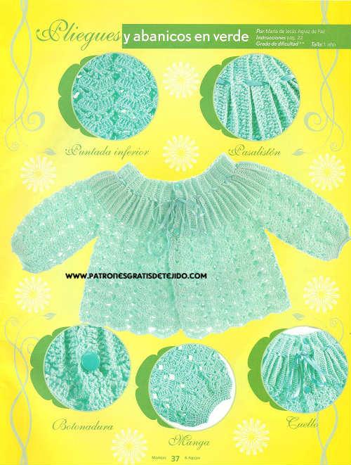 batita tejida al crochet