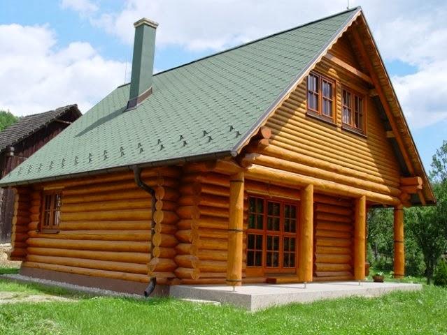Amerikanische Holzhuser