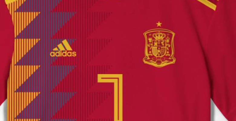 0d9b5f55435 ... Spain concept / prediction from the great guys at La Casaca that was  repurposed by Spanish sports daily AS who claim it's the country's World  Cup shirt.
