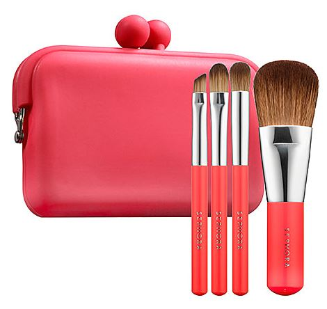 do nails makeup and brows on the go with mini sets from