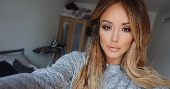 Charlotte Crosby (1990): British TV personality