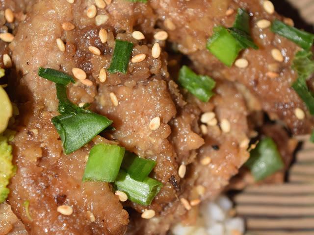 no sugar healthy mongolian beef