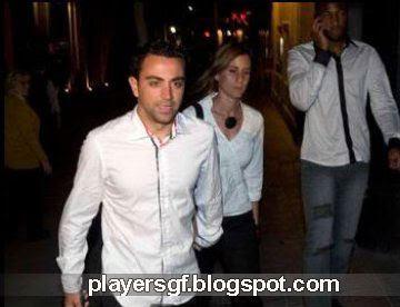 Xavi Hernandez Girlfriend X