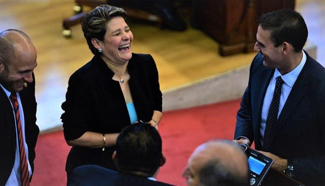 Jackeline Rivera Ausente de la Asamblea Legislativa desde la derrota en elecciones