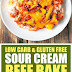 Low Carb & Gluten Free Sour Cream Beef Bake