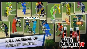 Real Cricket 18 MOD APK Unlimited Money Unlocked