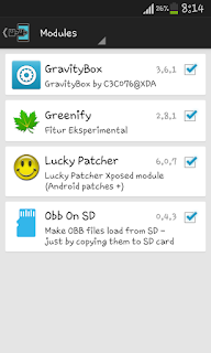 Salah satu modul xposed yang sekarang saya instal di semua android saya Unduh Game Android Gratis Grafitybox modul xposed
