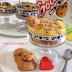 Dolci fatti in casa: dolce al bicchiere con crema pasticcera
