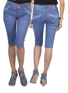 Celna jeans Pendek wanita ditro