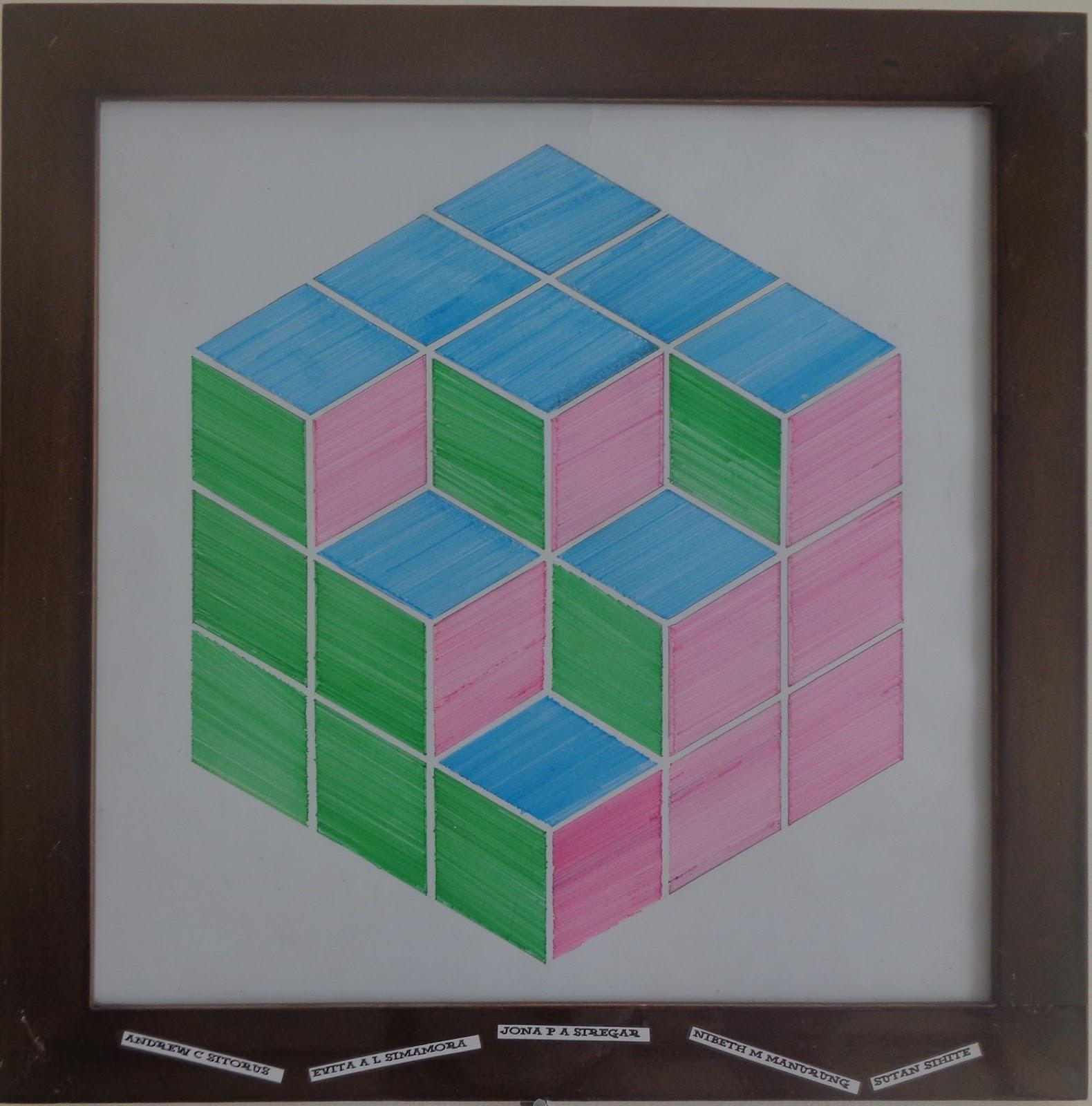 Berkarya Lewat Matematika dan Seni