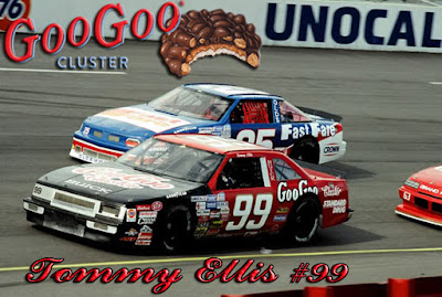 Tommy Ellis Goo Goo Clusters Racing Champions 1/64 NASCAR diecast blog BGN