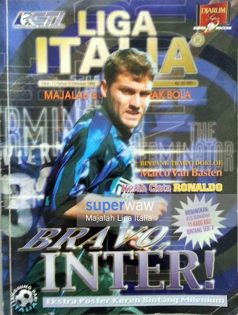Majalah LIGA ITALIA (BRAVO, INTER!)