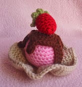 http://www.ravelry.com/patterns/library/strawberry-ice-cream--wafer-bowl