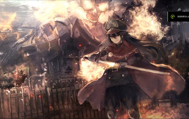 Fate/Go Nobunaga Wallpaper Engine