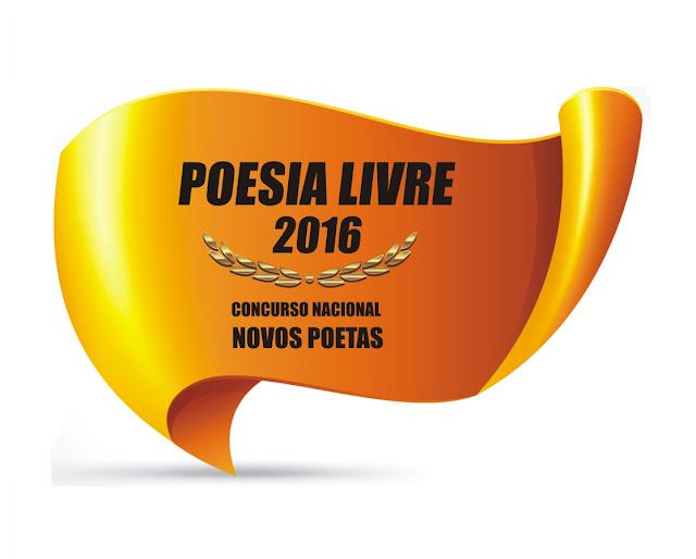Concurso Nacional Novos Poetas. Prêmio Poesia Livre 2017