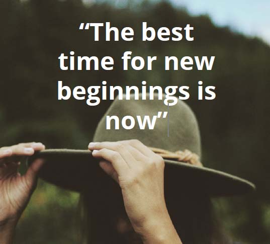 a new zero time for new beginnings
