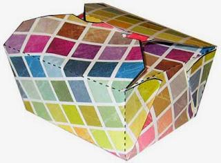 Nice Original Free Printable Mosaic colors  Boxes