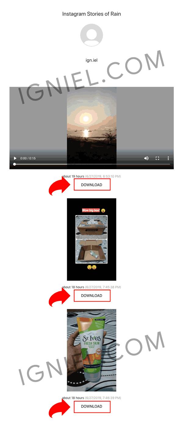 Download Snapgram Story Dari HP Gampang