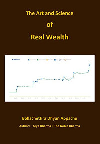 The Art and Science of Real Wealth: Earn Real Wealth by Dhyan Appachu Bollachettira