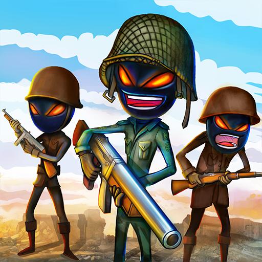 تحميل لعبة Stickman Royale World War Battle v1.4 الجديدة مهكرة للاندرويد أموال لا تنتهي
