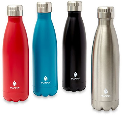 Manna™ Vogue® Stainless Steel Vacuum Insulated Water Bottles