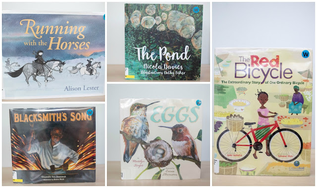 Montessori friendly books that we've been reading over the last couple of months