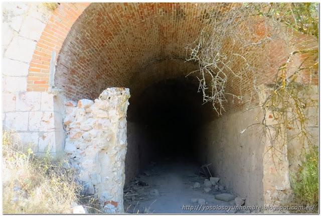 otro túnel, este bastante largo