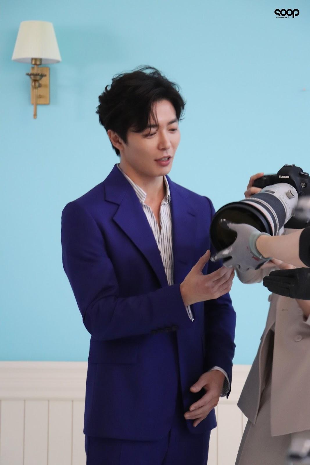她的私生活-金材昱-經紀公司公開拍攝花絮劇照