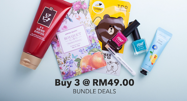 Beli 3 item pada harga RM49