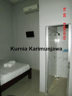 ruangan kamar di hotel ocean