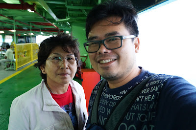 Me and Mom at #travelwithmom