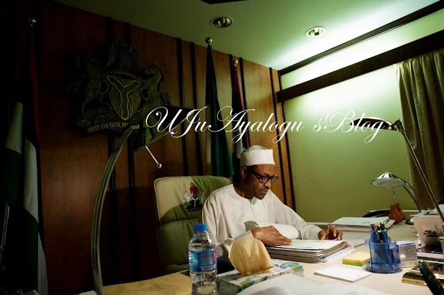 Breaking News: Buhari Finally Resumes, Meets AGF, GMD NNPC...See Details