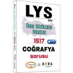 Yediiklim LYS den Önce Çözülmesi Gereken 1517 Coğrafya Sorusu (2016)