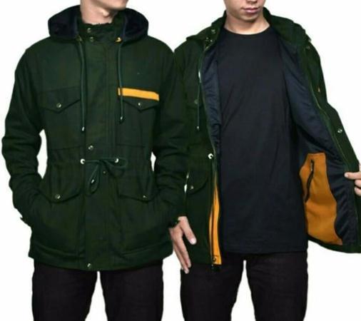 Model parka seperti ini merupakan unisex alias bisa digunakan oleh wanita  maupun pria. Biasanya jaket parka digunakan untuk mendaki gunung 5658cf996a