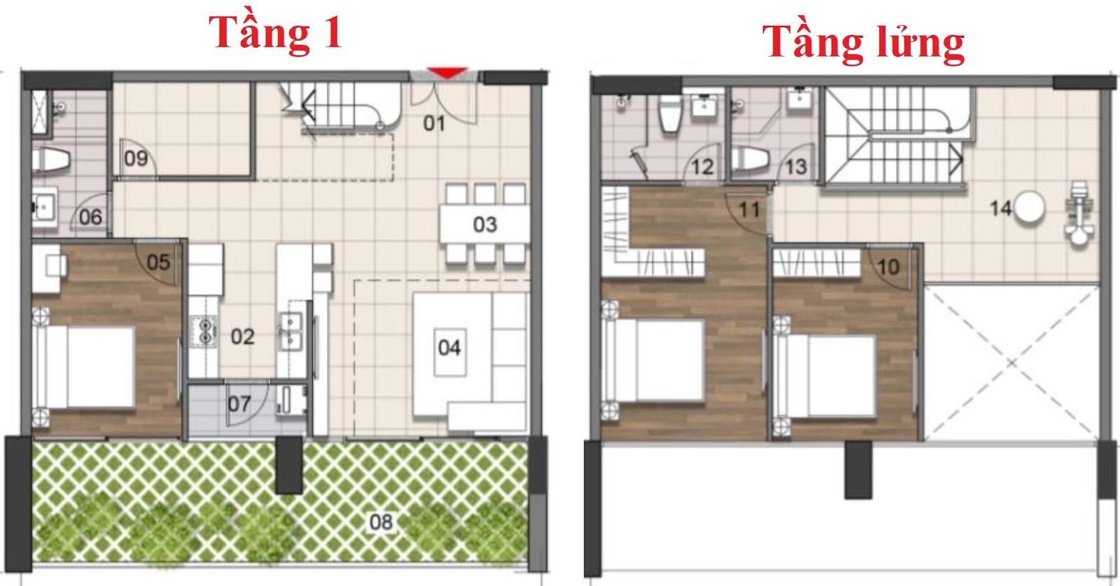 can-ho-penthouse-125.08m2-gem-premium-dat-xanh