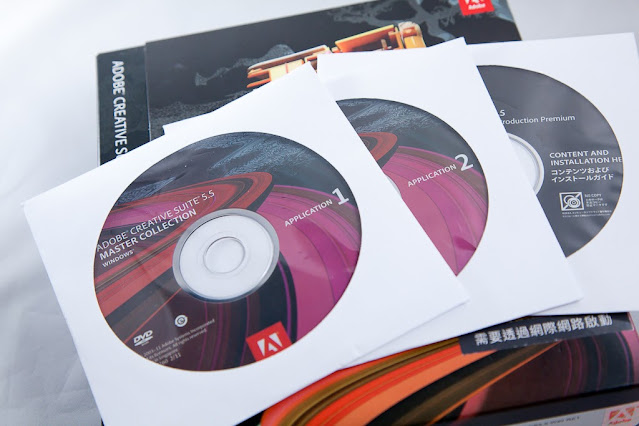 【Adobe】布蘭特大叔 + Adobe CS5.5 = !? - Master Collection 大師版內容物