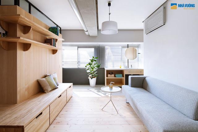 Phòng khách căn hộ Núi Trúc Square