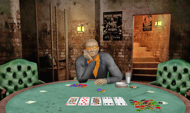 Decode body language playing poker