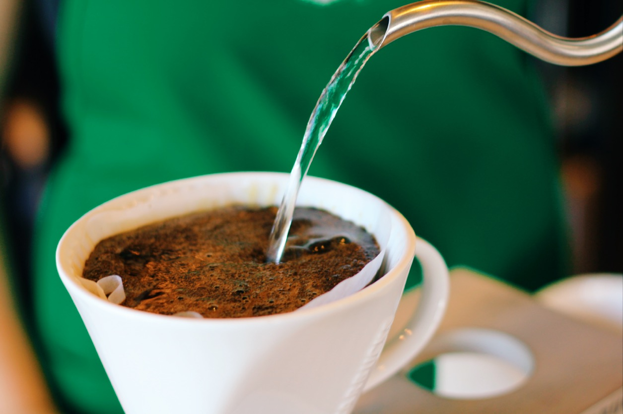 Starbucks Coffee Pour-Over brewing method