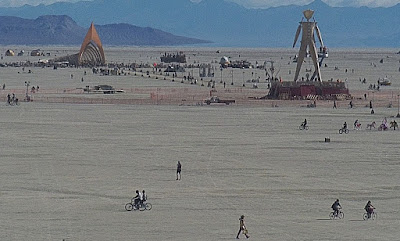Burning Man Live online