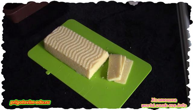 Рецепт домашнего сыра из творога.