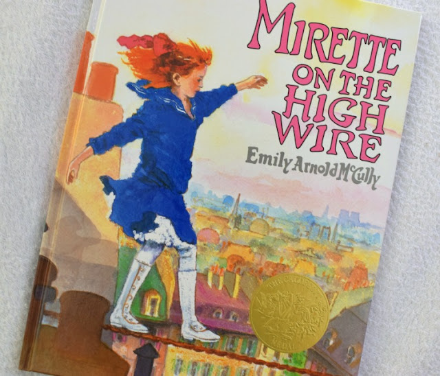 Mirette On The High Wire, part of September Reading Roundup - favorite book finds from my family to yours