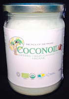 Coconoil, organic cold pressed virgin coconut oil