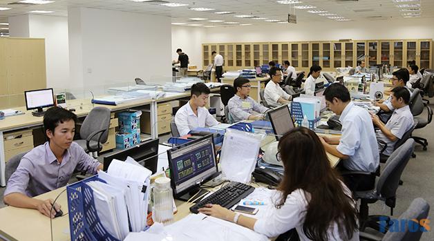 Phòng kỹ thuật của công ty Faros