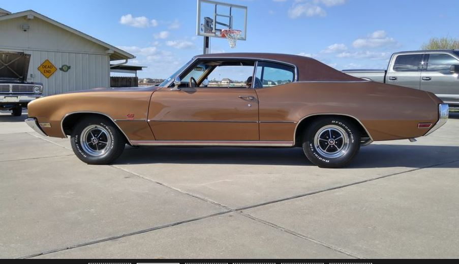 On The Block 1970 Buick Gs350 Hardtop Phscollectorcarworld